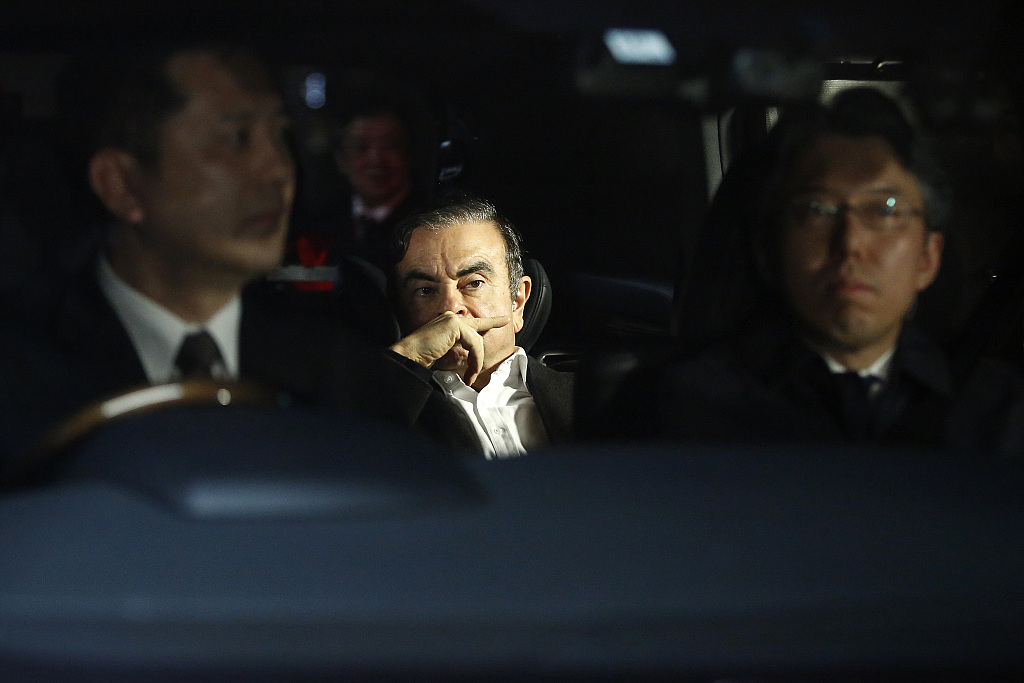 Ex-Nissan chief Ghosn rearrested in Tokyo: media