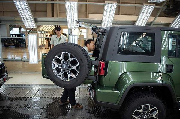 China's fuel demand from cars to rise 20 pct by 2025 on SUV sales