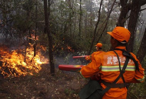Lightning blamed for forest fire that kills 30 in SW China
