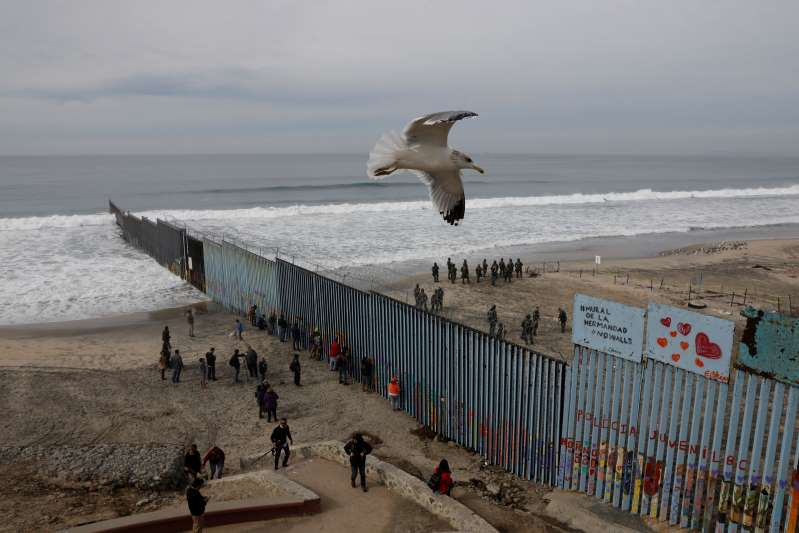 A look at the state of the wall on the US-Mexico border