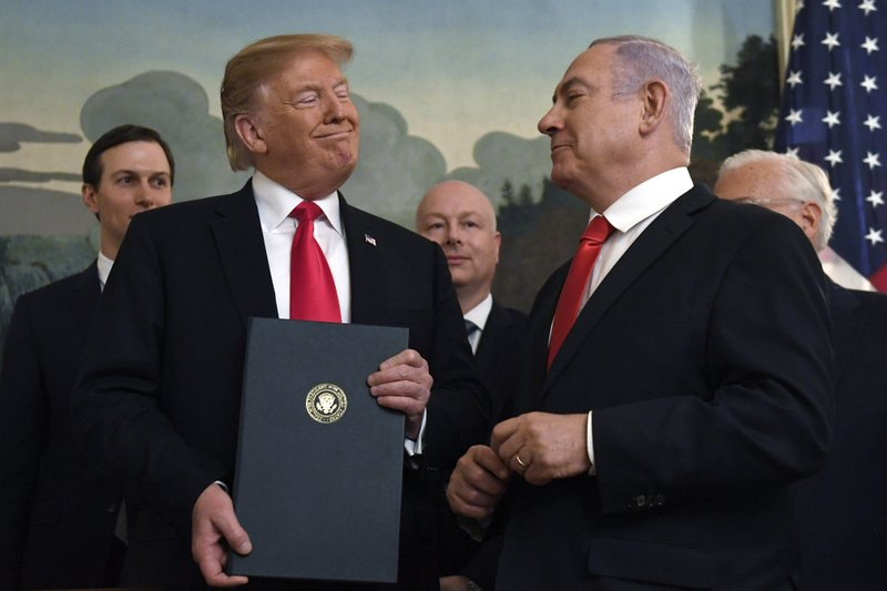 For American Jews, Trump is key figure in Israeli election