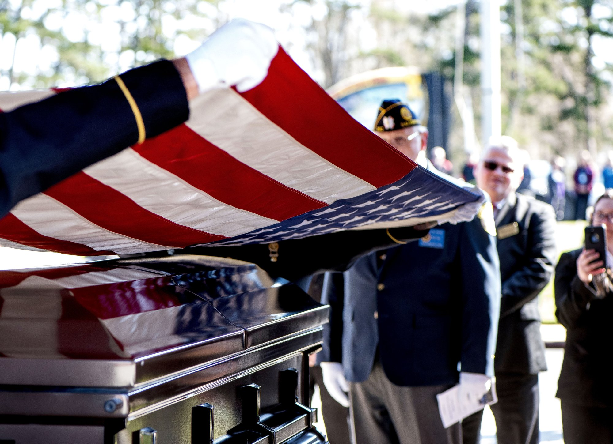 Vietnam vet who died Christmas Eve is finally laid to rest