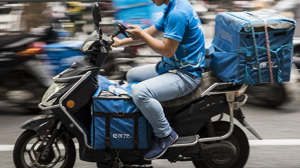 Road warriors: China's food deliverymen