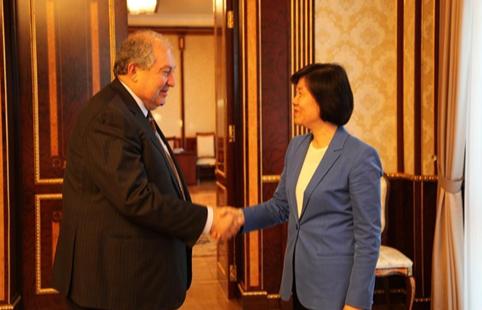 China's NPC delegation visits Armenia