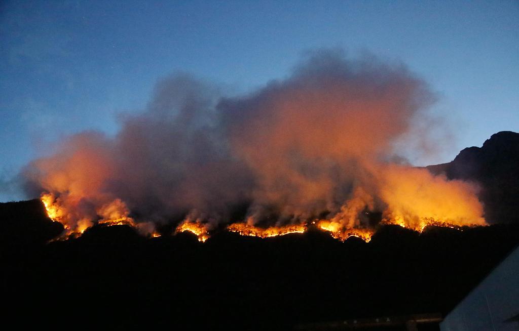 Southwest China battles forest fires