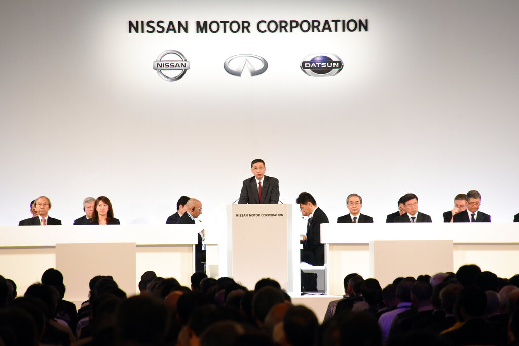 Nissan shareholders OK ouster of ex-chair Ghosn from board