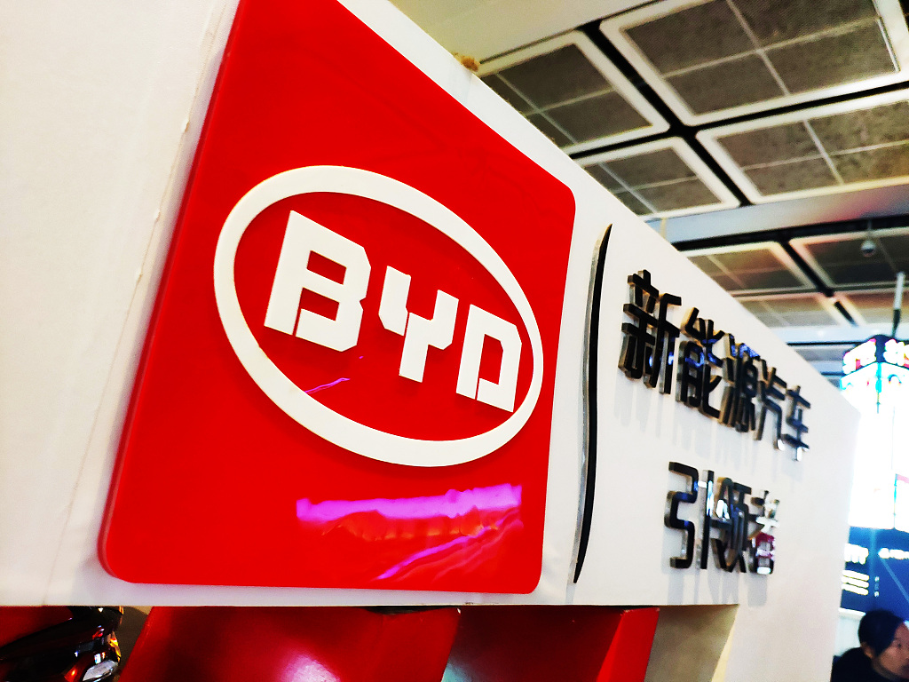 China carmaker BYD posts strong green car sales in Q1