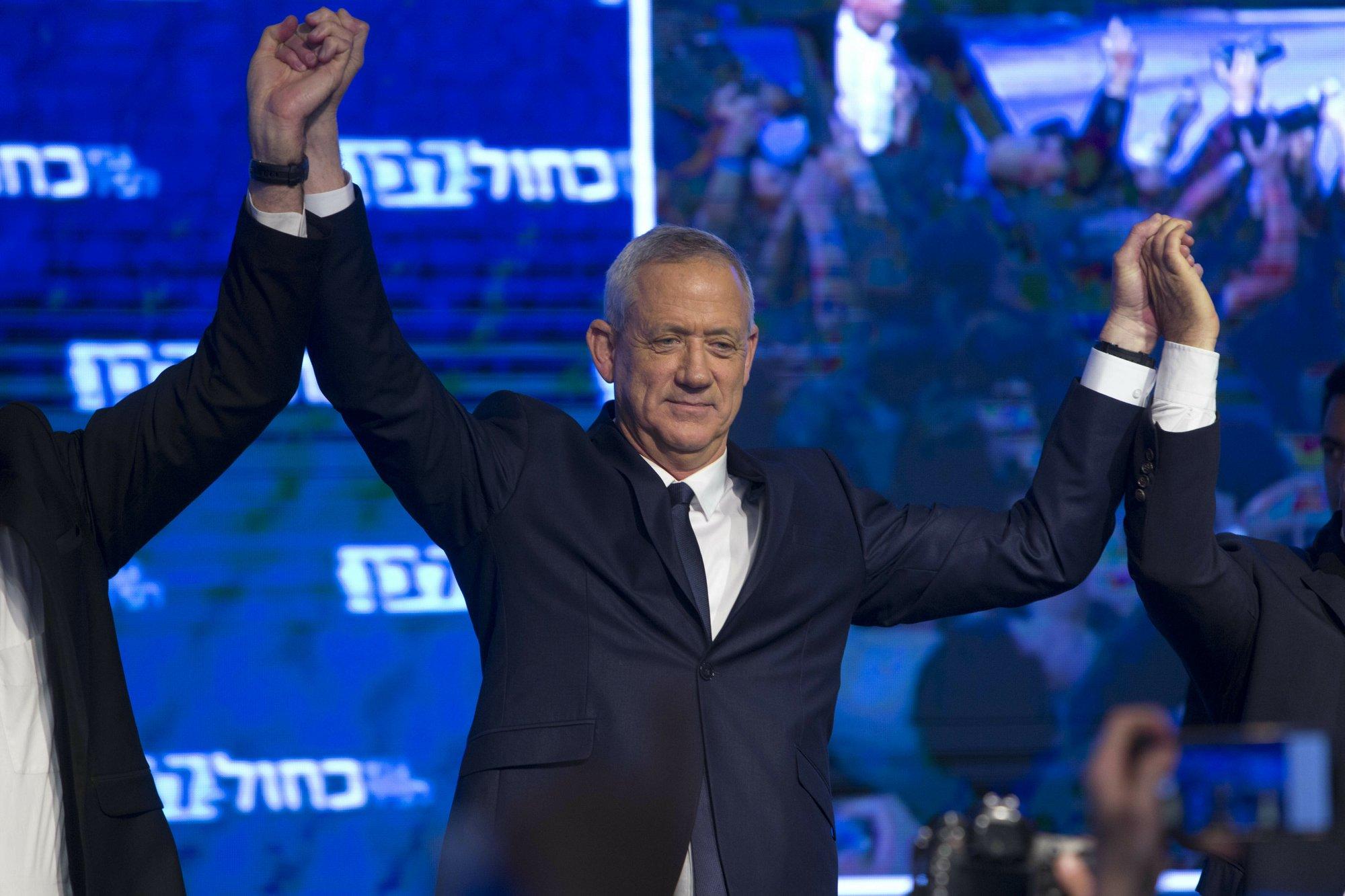 Israeli exit polls show Netanyahu, main rival in tight race