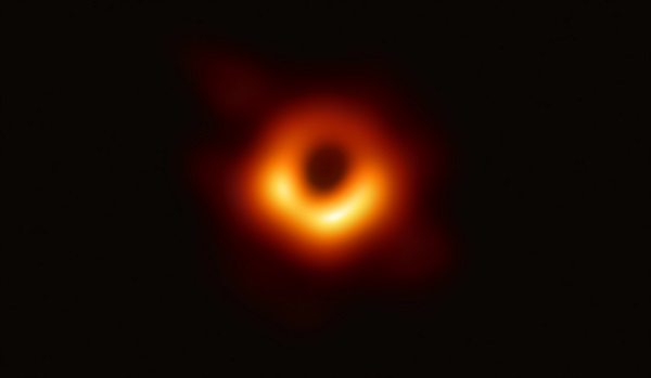 The first photo of a black hole unveiled