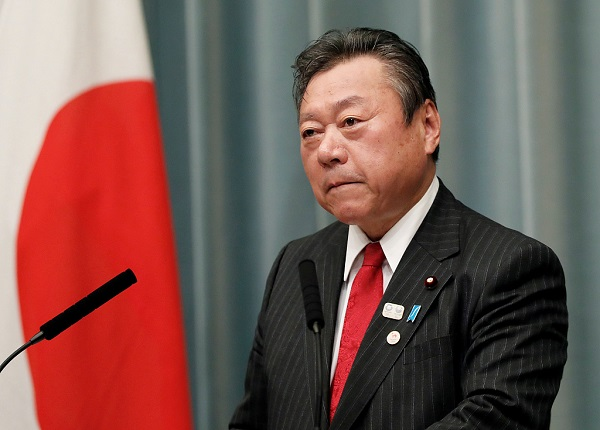 Japan Olympic minister steps down after gaffes