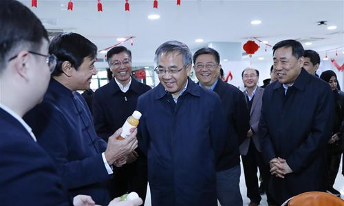 Chinese vice premier calls for enhancing agricultural tech innovation
