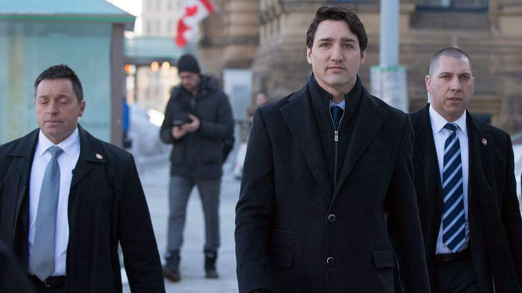 Canada's golden boy Trudeau sinks in polls as scandal takes toll