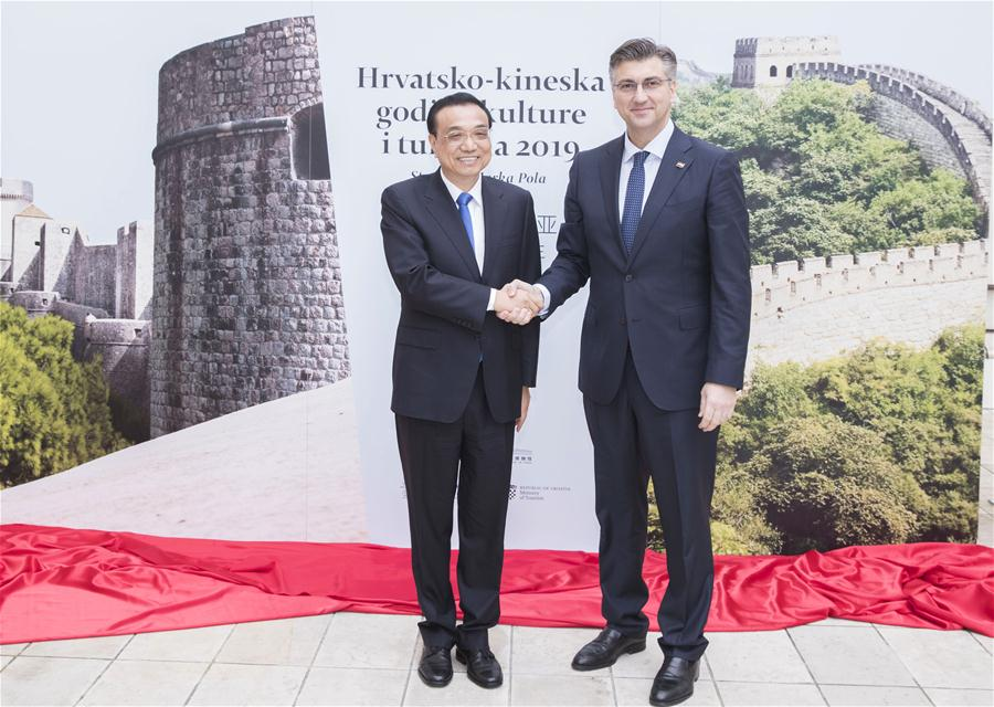 China, Croatia to enhance cultural, tourism cooperation