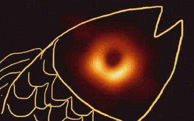 First photo of black hole becomes meme on social media