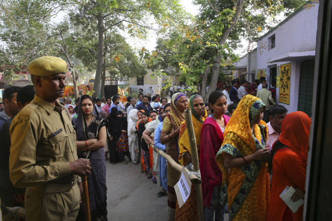First phase of polling begins in India's general elections