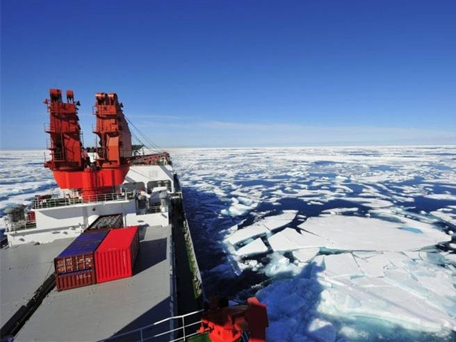 Chinese senior lawmaker attends Arctic forum in Russia