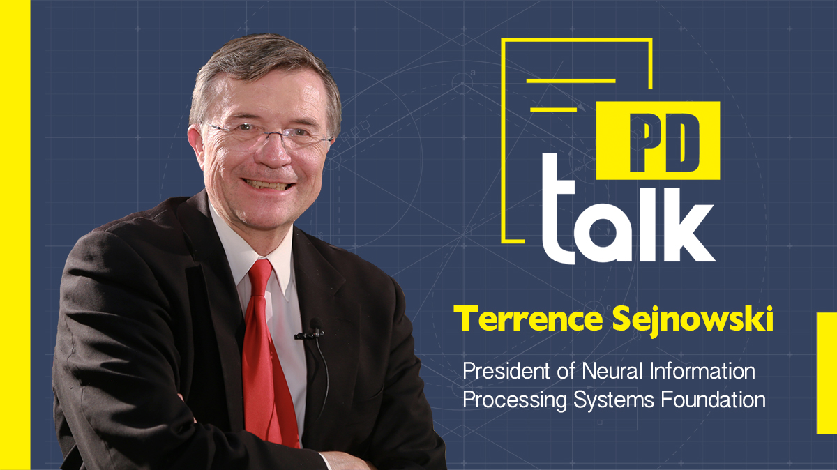 PD Talk | AI helps amplify human cognition: Terrence Sejnowski