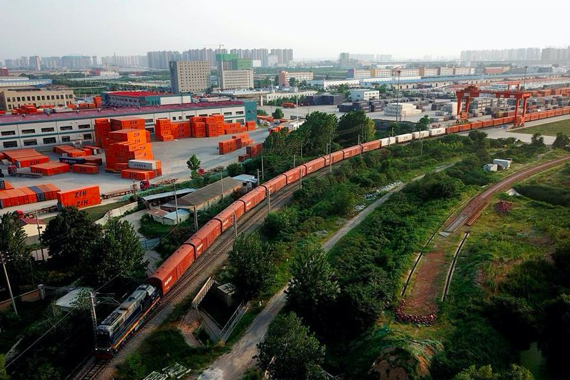 China-Europe train services on the rise