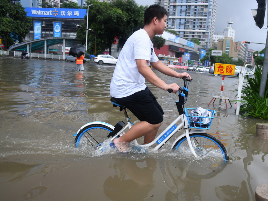 China issues alerts for extreme convection weather, rainstorms