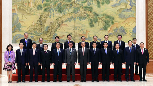 China, Japan vow to deepen economic cooperation