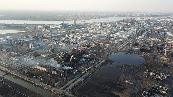 Another 17 under coercive measures after deadly chemical plant blast