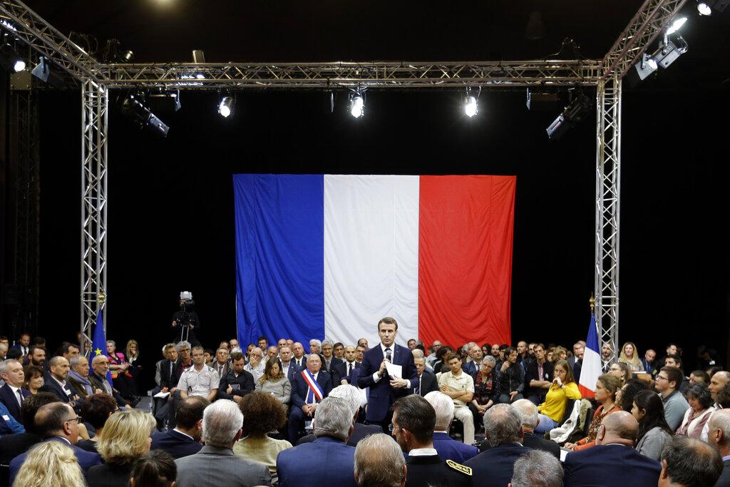 France's Macron to respond to yellow vest economic crisis