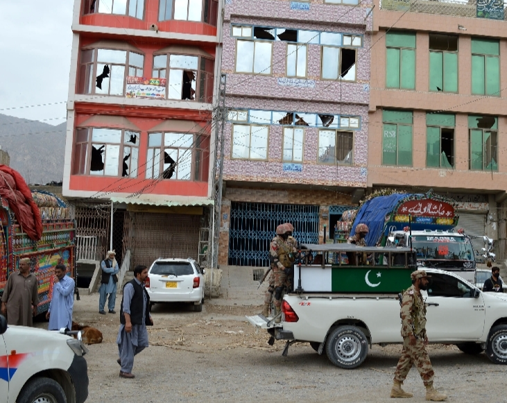 IS claims attack in Pakistan's Quetta market