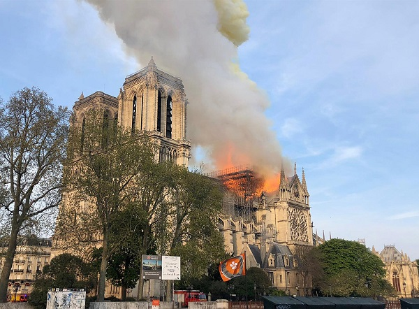 Notre-Dame fire 'under control, partially extinguished': firefighters