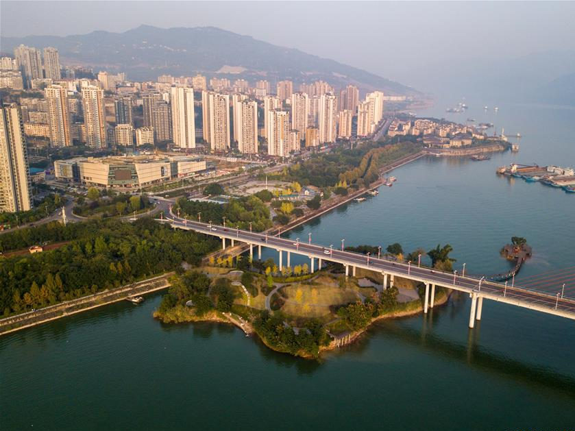 Belt and Road joins hands with Yangtze River