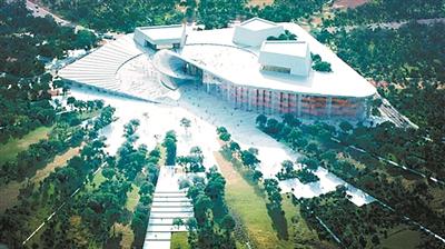 Shanghai plans grand opera house as new landmark
