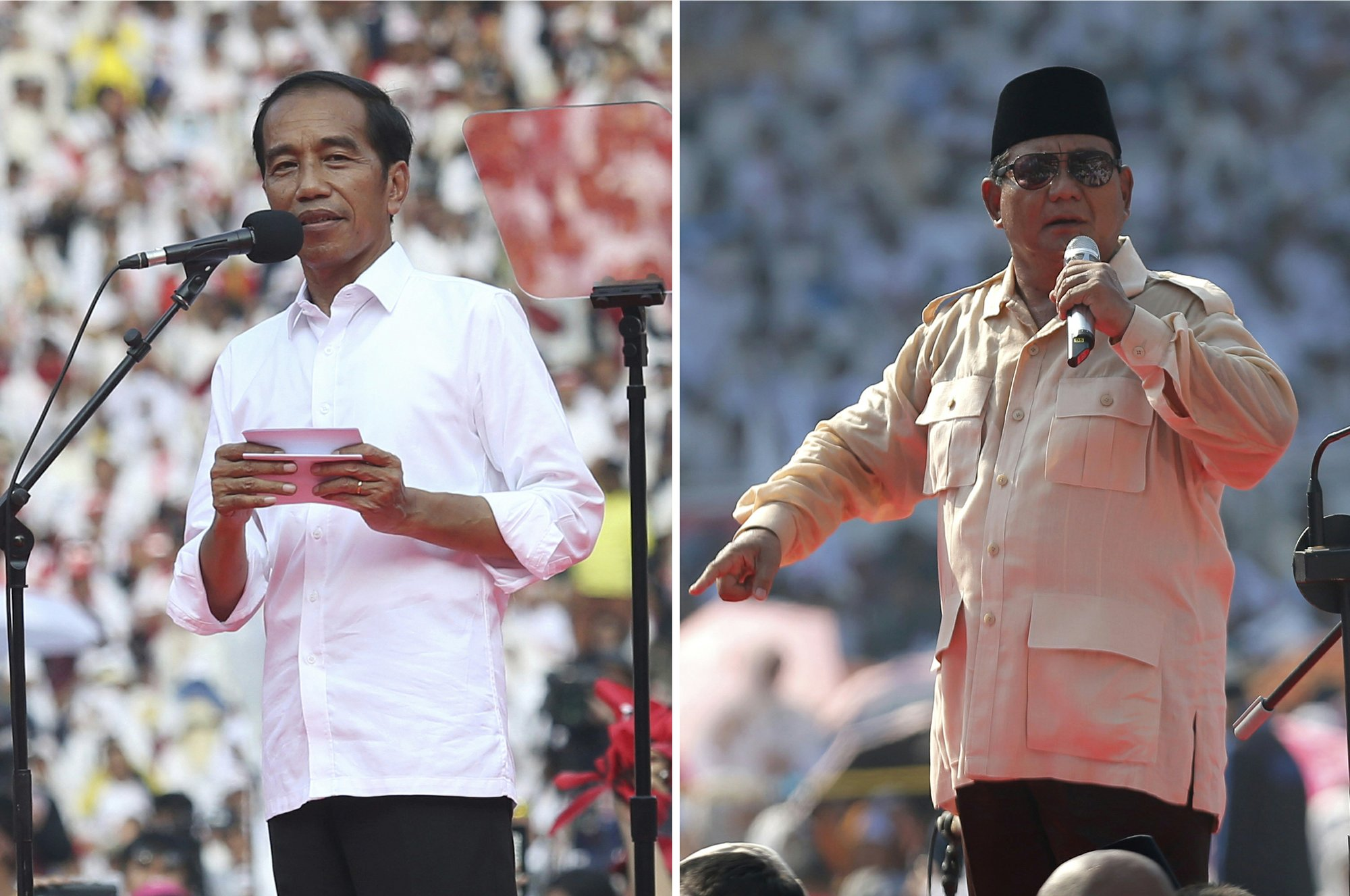 Indonesians vote to elect president, parliamentarians