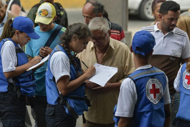 Red Cross humanitarian aid arrives in Venezuela