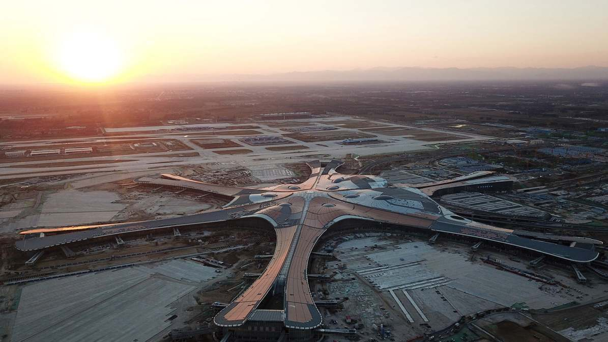Beijing's new airport to feature multi-function rainwater lake