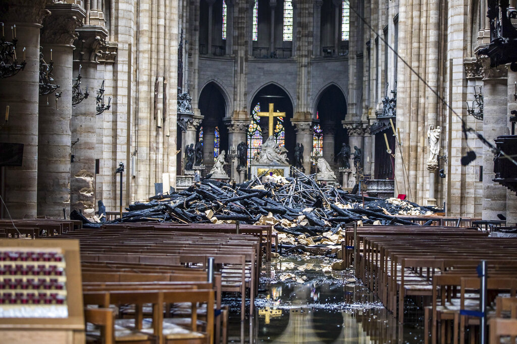 France to launch international contest to rebuild Notre-Dame spire: PM