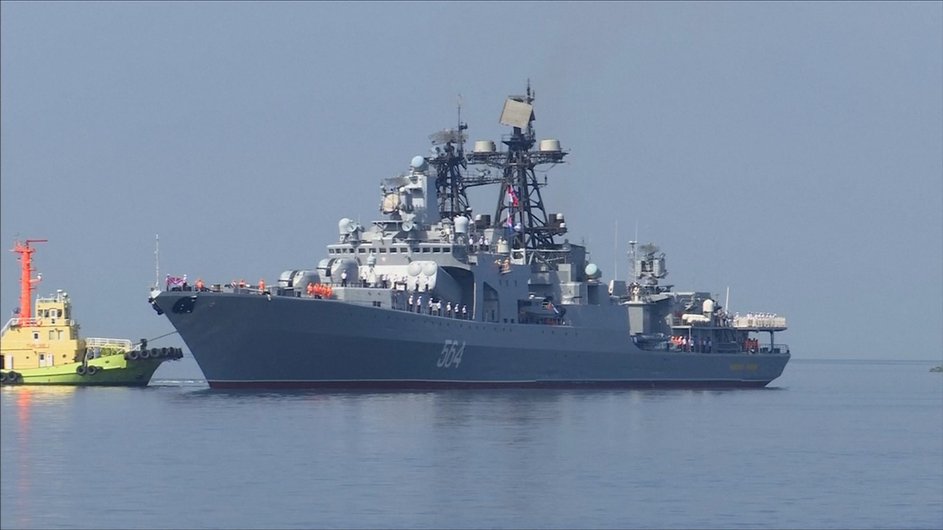 PLA Navy's 70th Anniversary: Russia-China naval cooperation has a great future