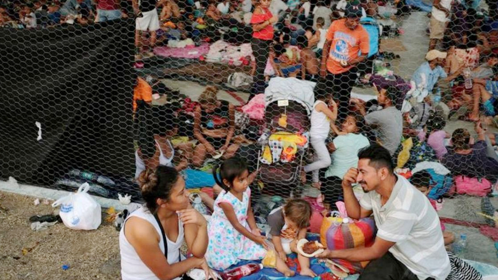 Migrant camps overflow as Mexico cracks down after Trump threats