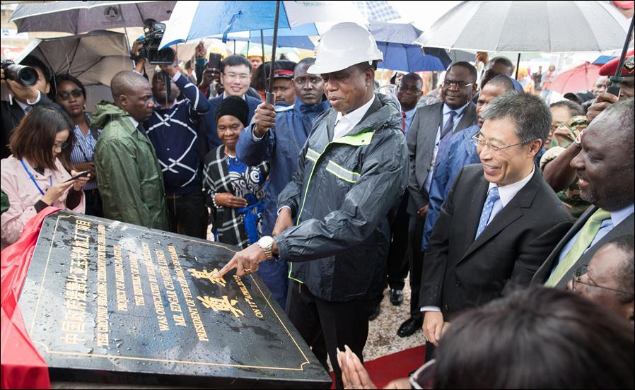 Zambia launches construction of China-aided milling plants