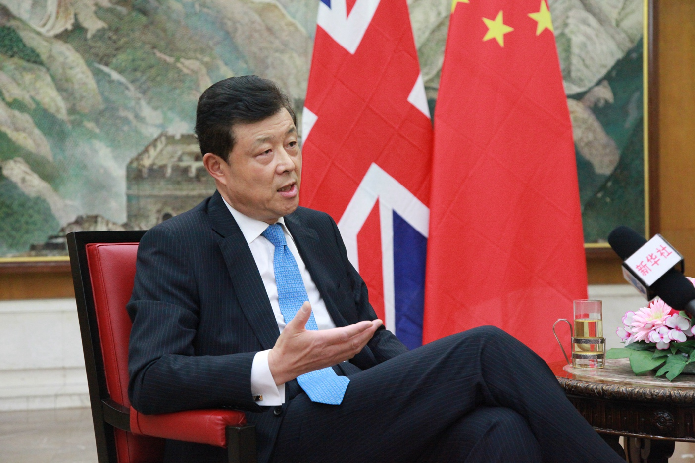 Britain can take giant strides on China's 'new silk road': ambassador