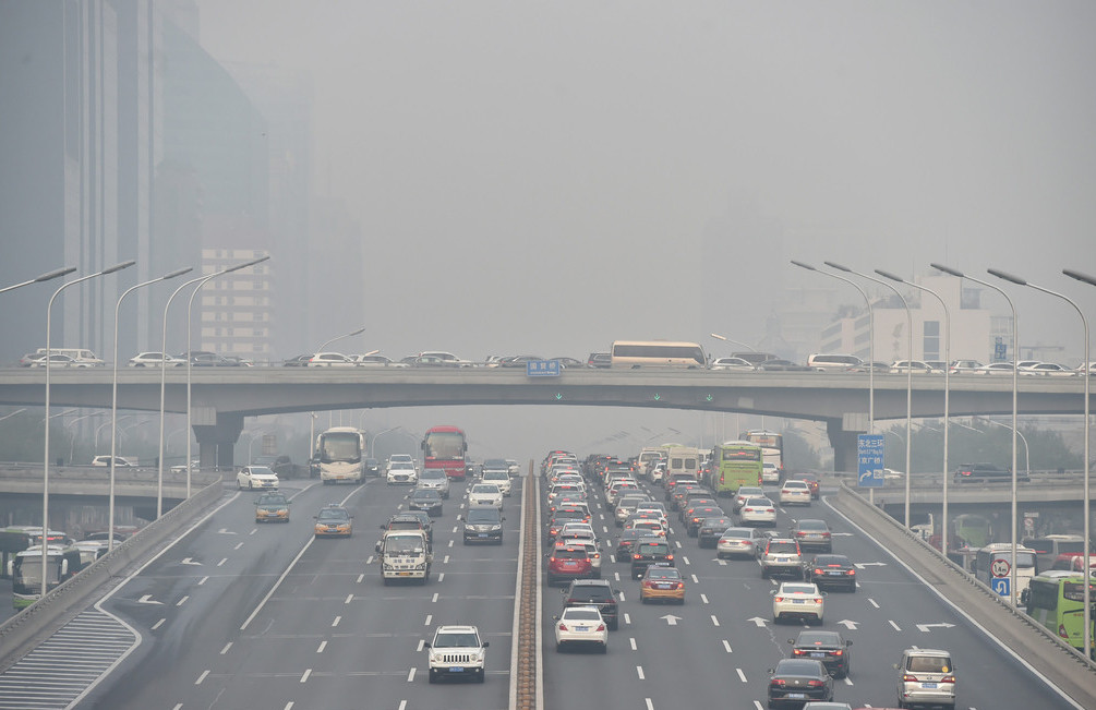 Pollution 'worsened' by climate change