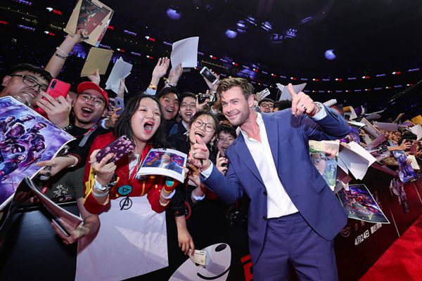 Biggest 'Avengers: Endgame' fan extravaganza held in China