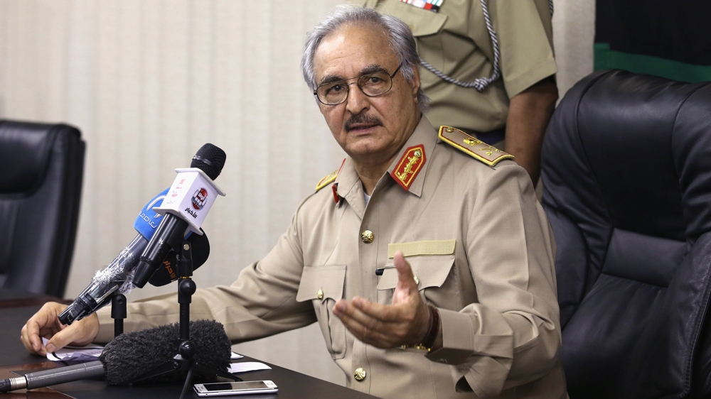 Trump speaks with Libyan army commander Haftar: White House