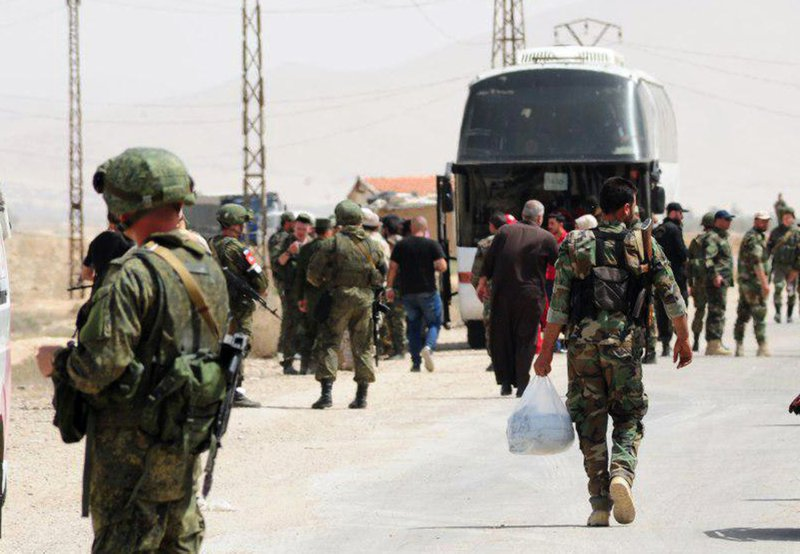 Syrian army denies reports of clashes between Iran, Russian forces