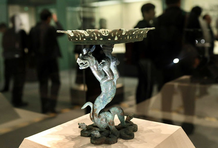 Exhibition launched on ancient culture in Shandong