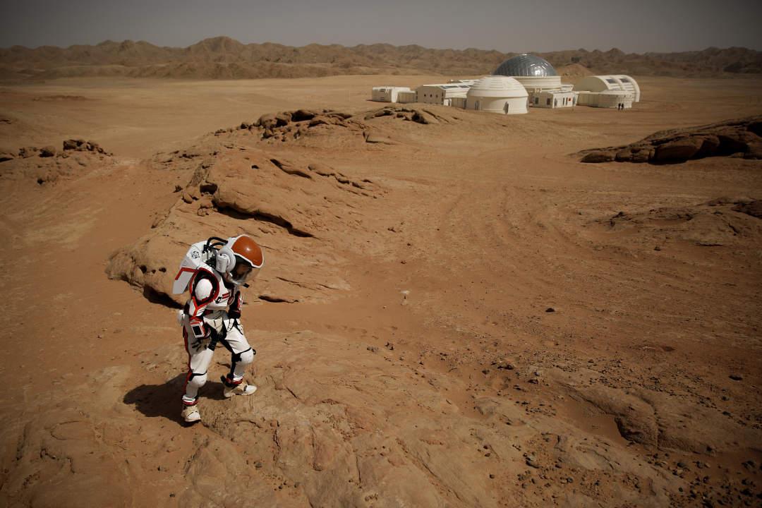 China unveils simulated Mars base in Gansu