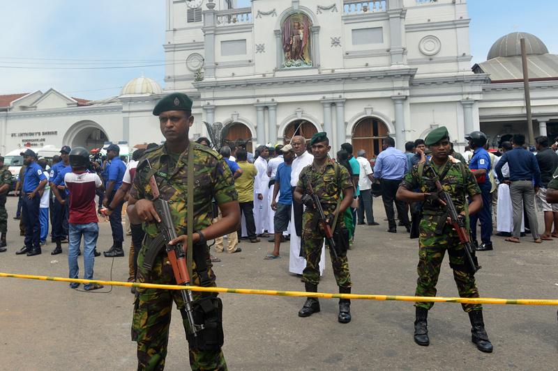 All domestic flights in Sri Lanka suspended after multiple blasts