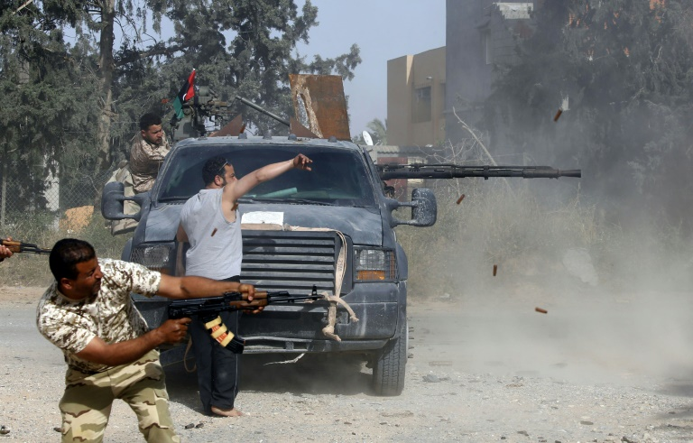 Haftar forces press offensive on Libyan capital