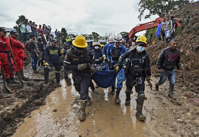 Mudslide kills at least 15 in Colombia, injures 5