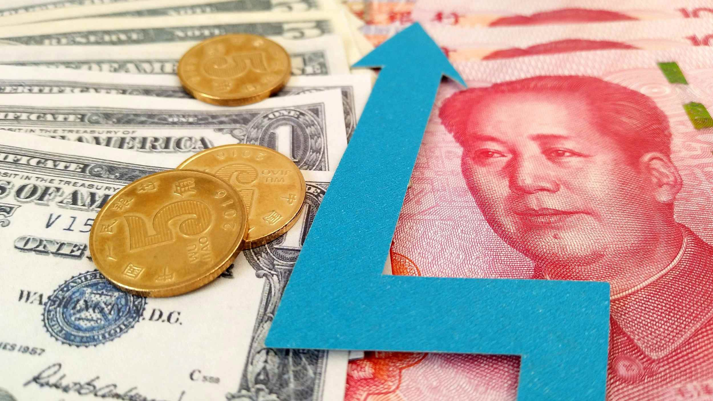 Chinese yuan strengthens to 6.7035 against USD Monday