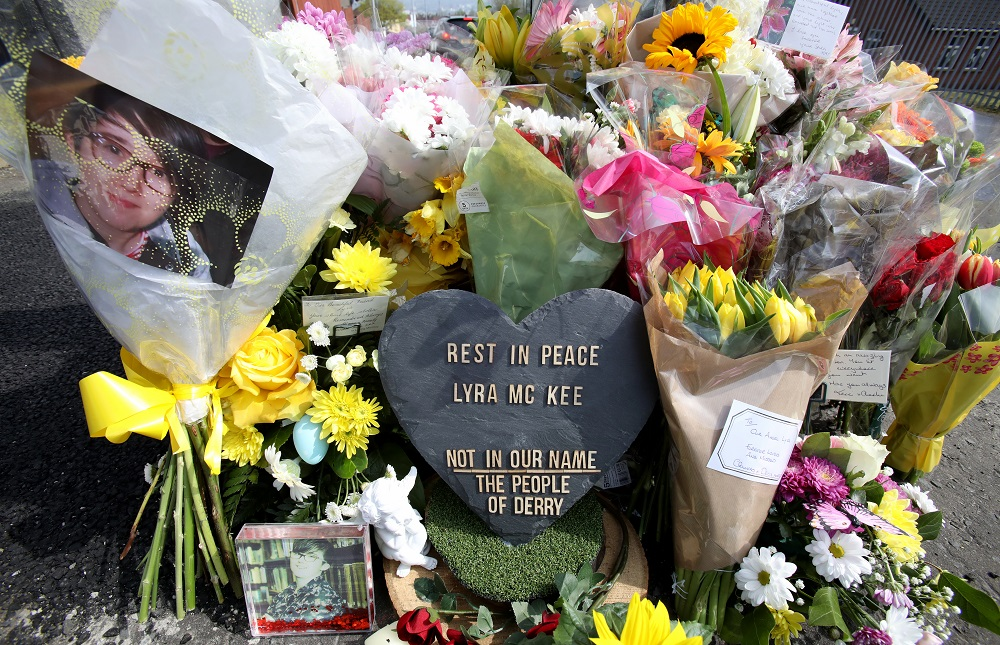 Northern Ireland police arrest 2 over killing of journalist