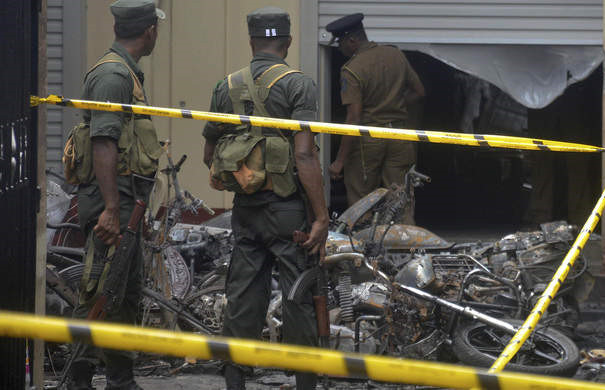 One Chinese confirmed dead, five missing and five injured in Sri Lanka blasts